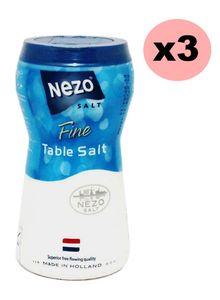 Nezo Fine Salt Blue+Red 3x1kg