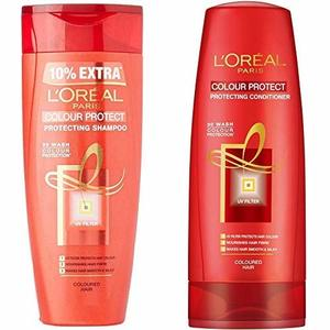 L'Oreal Color Protect Shampoo With Conditioner 2x400ml