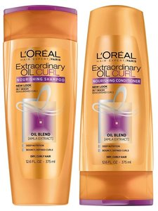 L'Oreal Extra Oil Shampoo With Conditioner 2x400ml