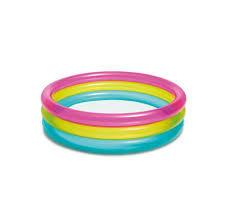 Intex Rainbow Baby Pool Age 1-3 1pc
