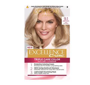 L'Oreal Excellence Hair Color Ash Blonde 1kit
