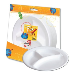 Al Bayader Foam Cup With  Bowl & Plate 1pack