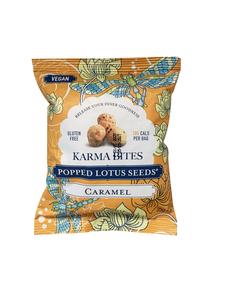 Karma Bites Popped Lotus Seeds Caramel 25g