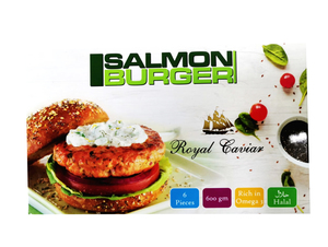 Royal Caviar Salmon Burger 600g