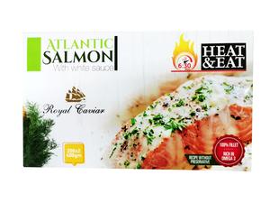 Royal Caviar Atlantic Salmon With White Sauce 400g