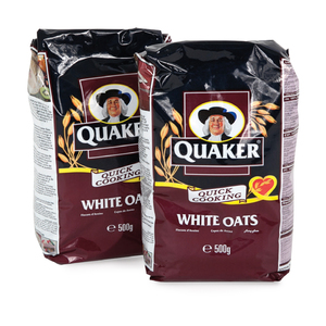 Quaker White Cereal Oats 2x500g