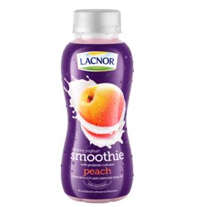 Lacnor Smoothie Peach Drinking Yoghurt 330ml