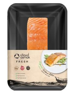 Asmak Salmon FilletOrganic Norway 200g