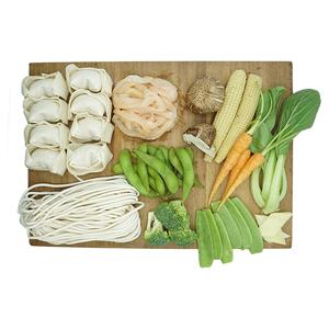 Chicken Shanghai Noodle And Prawn Wonton & Edamame Kit 1kit