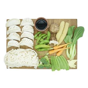 Udon Vegetable Noodle With Vegetable Dumpling & Edamame Kit 1kit
