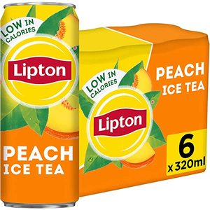 Lipton Ice Tea Peach 6x290ml