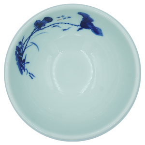 Blue and White Porcelain Soup Bowl 15cm