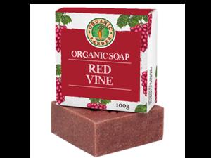 Organic Larder Soap Red Vine 100g