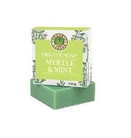 Organic Larder Soap Myrtle & Mint 100g