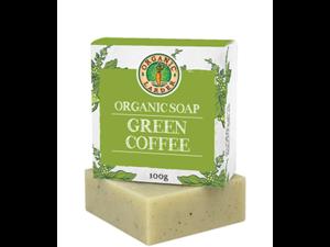 Organic Larder Soap Green Coffee 100g