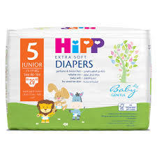 Hipp Junior 5 Extra Soft Nappies 29pcs