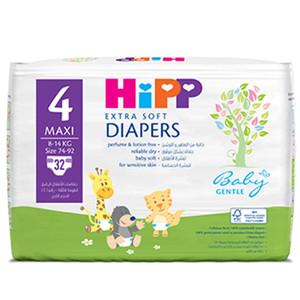 Hipp Maxi 4 Extra Soft Nappies 32pcs