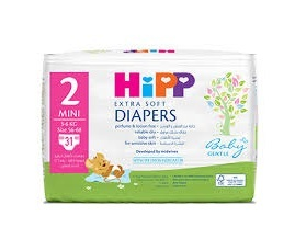 Hipp Mini 2 Extra Soft Nappies 31pcs