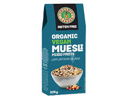 Organic Larder Muesli Mixed Fruit 325g
