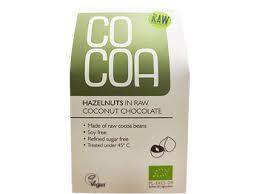 Cocoa Hazelnuts in Coconut Chocolate 70g