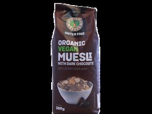 Organic Larder Muesli With Dark Chocolate 300g