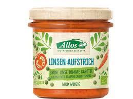 Allos Green Lentils Tomato Carrot 140g