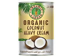 Organic Larder Coconut Heavy Cream 400ml