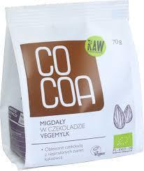 Cocoa Almonds in Vegemylk Chocolate 70g