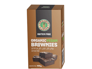 Organic Larder Brownies 400g