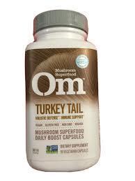 Om Mushroom Turkey Tail Mushroom Superfood 90caps