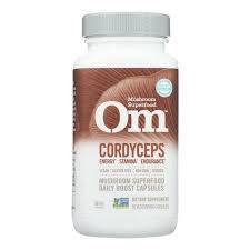 Om Mushroom Cordyceps Mushroom Superfood 90caps