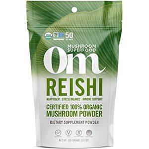 Om Mushroom Superfood Reishi Mushroom Powder 100g