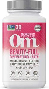 Om Mushroom Beauty Full Mushroom Superfood 90caps