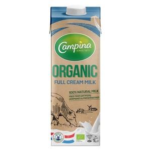 Campina Organic Full Cream Milk 1L