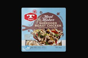 Tegel Meal Maker Shredded Roast Chicken 300g