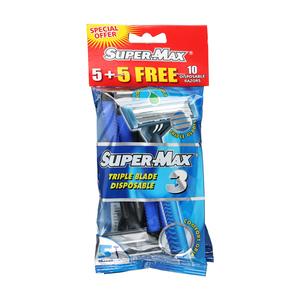 Supermax 3 Men Disposable 10s