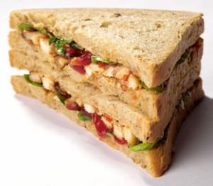 Mini CB Chicken Tikka Sandwich 1pc