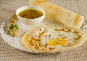 Dosa With Egg Roast 3s