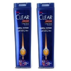 Clear Men's Anti-Dandruff  Shampoo Hairfall Defence 2x400ml