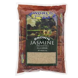 World Recipes Jasmine Brown Rice 5kg