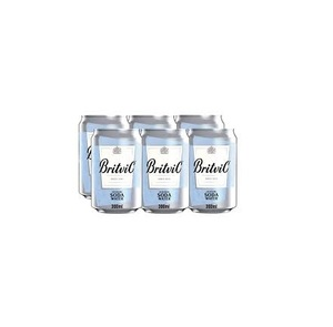 Britvic Soda Water 6x300ml