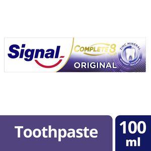 Signal Complete 8 Toothpaste Gold 100ml
