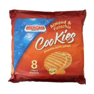 Americana Nutty Cookies Almond & Pista 8x90g
