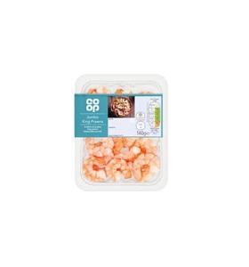 Co-Op Frozen Shrimps Tail On Medium 400g