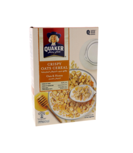 Quaker Oats & Honey Cereal 400g