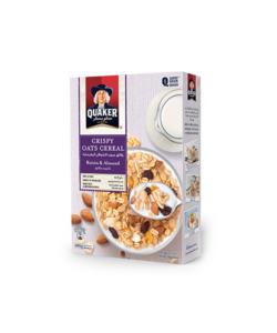 Quaker Raisin & Almond Cereal 400g