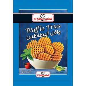 Al Kabeer Waffle Fries 750g