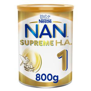 Nestle NAN Supreme Stage 1 Hypoallergenic Starter Infant Formula For Birth To 6 Months 800g