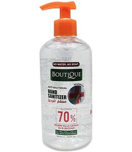 Boutique Anti Bacterial Hand Sanitizer Gel 500ml