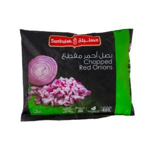 Sunbulah Chopped Red Onions 450g